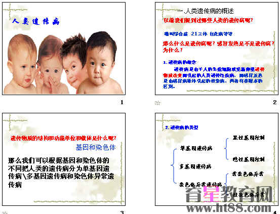遗传病类型_人类遗传病与优生ppt7 人教版