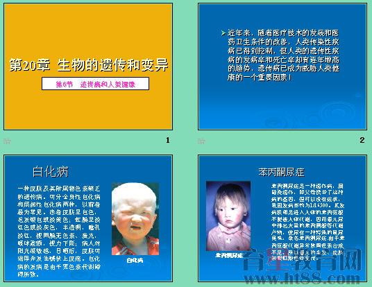 常见遗传病_遗传病和人类健康ppt 北师大版