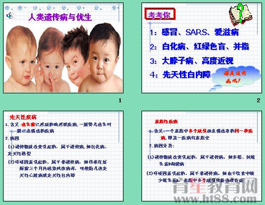 遗传病类型_人类遗传病与优生ppt14 人教版