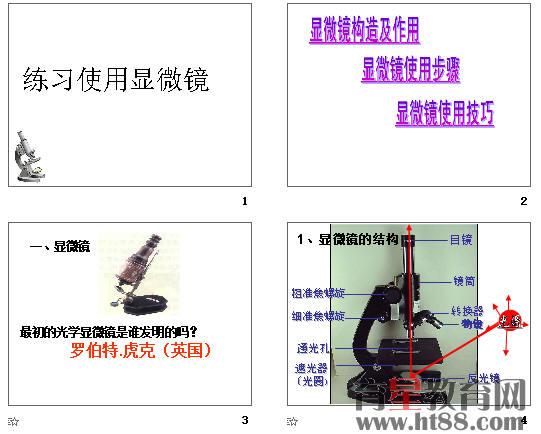 使用练习显微镜ppt28教程版raspberry人教pi图片